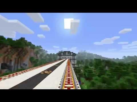 MRT Circle Line Timelapse (Minecraft 1.7.10)