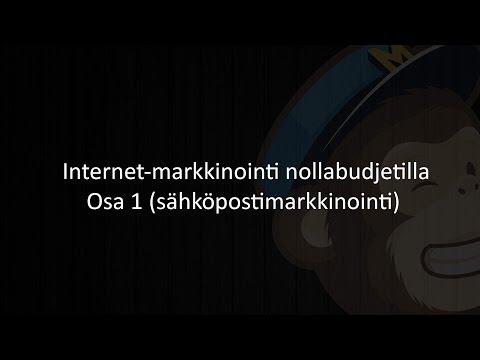 Internet-markkinointi nollabudjetilla - Osa 1 (sähköpostimarkkinointi)