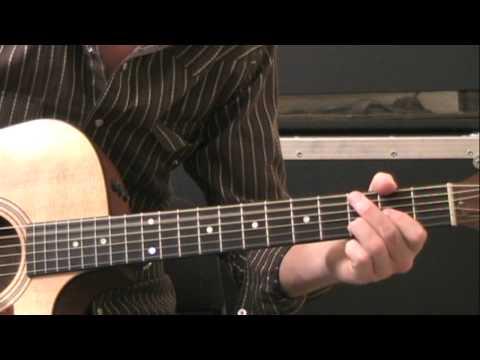 American Honey (Lady Antebellum) Guitar Lesson- Standard Tuning