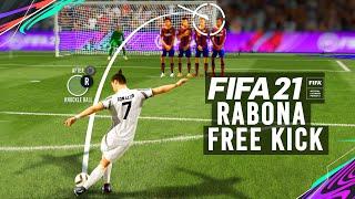 FIFA 21 - RABONA FREE KICK TUTORIAL| [XBOX AND PLAYSTATION][NEW]