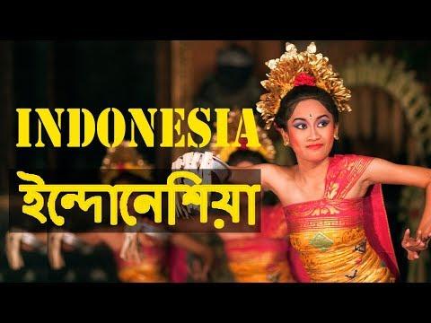 ইন্দোনেশিয়া একটি দ্বীপের দেশ | Amazing Facts About Indonesia In Bengali
