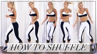 HOW TO SHUFFLE DANCE(Hey unicorns! Never thought a dancing video could be so requested on my channel. Hope you guys enjoy learning these shuffle moves and if you do give this a ..., 2015-08-26T22:29:32.000Z)