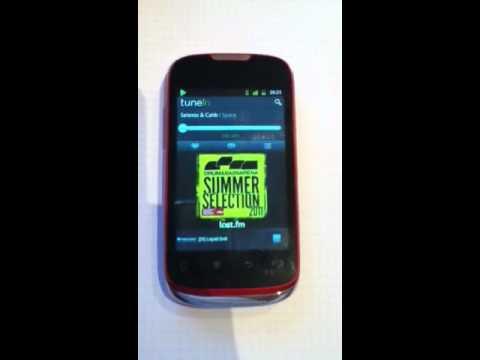 Huawei Sonic U8650 / TuneIn Radio