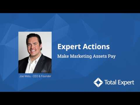 Expert Actions: Make Marketing Assets Pay