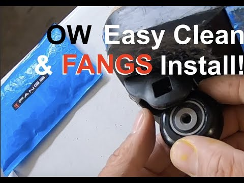 How to Clean a Onewheel and Install Fangs 2.0 Bumper Wheels