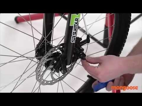 454cec37e00 Mongoose Assembly Guide - Disc Brake - YouTube
