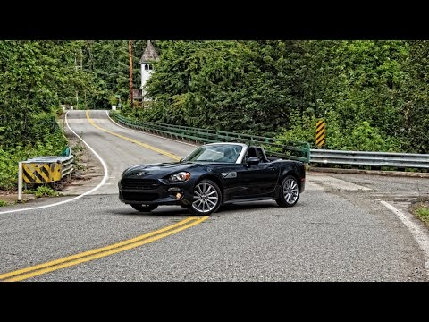 2017 fiat 124 spider lusso car review youtube. Black Bedroom Furniture Sets. Home Design Ideas