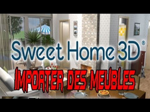 comment importer des meubles sur sweet home 3d 5 2 youtube. Black Bedroom Furniture Sets. Home Design Ideas