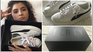 *NEW* PUMA FENTY by RIHANNA CREEPER Sneakers UNBOXING + TRY ON