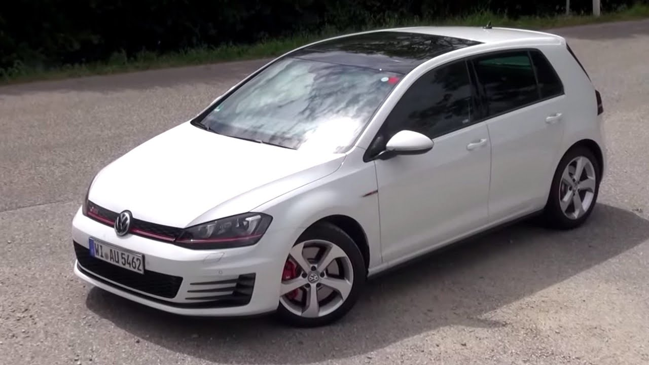 2015 vw golf 7 gti performance 230 hp test drive youtube