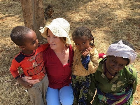 """Lorna Byrne in Ethiopia Film (Full) """"The Future belongs to the Young"""""""