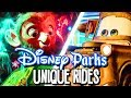 Unique Rides from Disney Parks Around the World