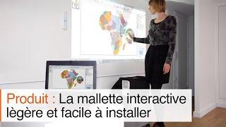 Comment obtenir un vidéoprojecteur interactif à ultra-courte focale  mobile et sans fil