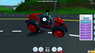 Deja vu Roblox tractor vs sedan