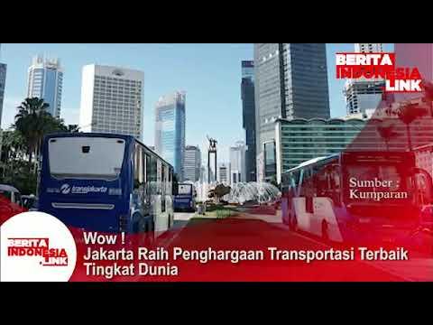 Jakarta raih penghargaan Transportasi terbaik tingkat dunia.