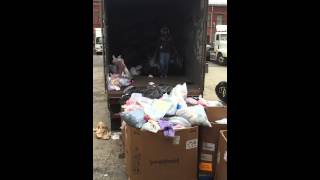 Credential clothing, used clothes, charity, donations, sneakers recycling, textiles, 7864442449