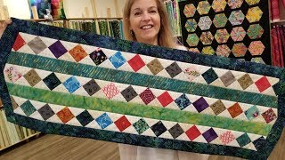 SCRAPS NO MORE!!! Donna's Scrap Buster Table Runner