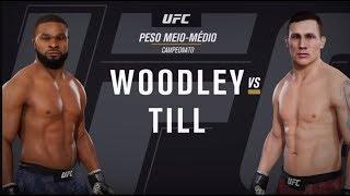GAME UFC: Tyron Woodley x Darren Till