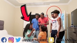I CANT SEE ANYMORE PRANK ON BOYS * GOES TO FAR **