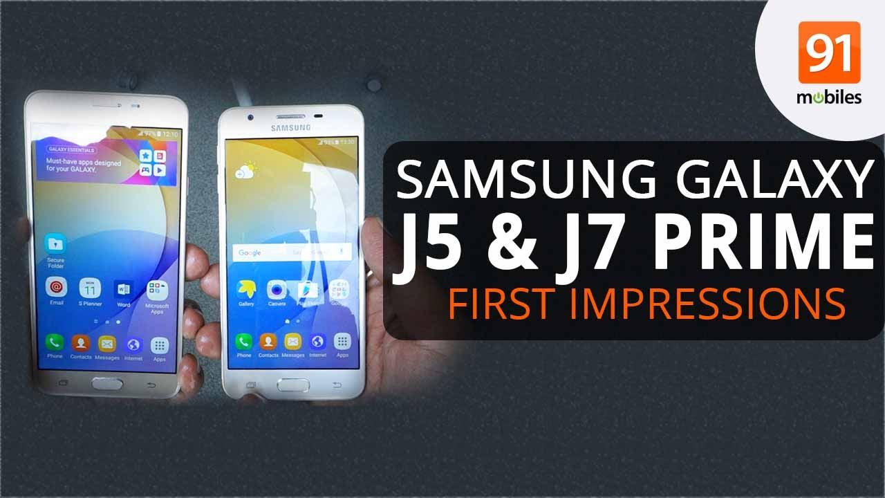 Samsung Galaxy J5 Prime and J7 Prime's 32GB models get a price cut