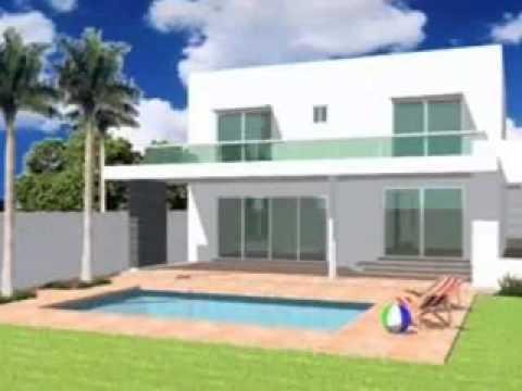 Casas en m xico yucat n planos de casas y construcci n for Planos de casas modernas mexicanas