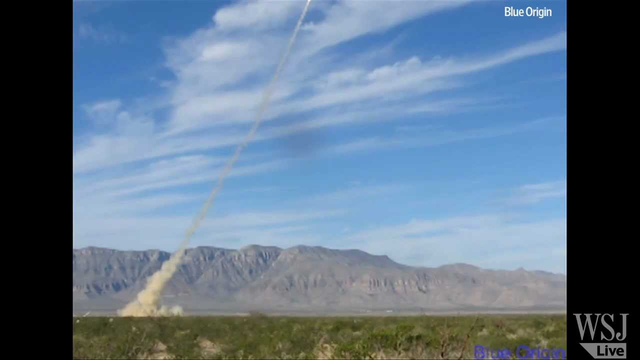 Jeff Bezos' Blue Origin to Launch 'High-Altitude Escape Motor Test' Wednesday