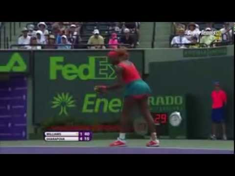 Maria Sharapova vs Serena Williams Best Match in MIAMI MASTERS 2015