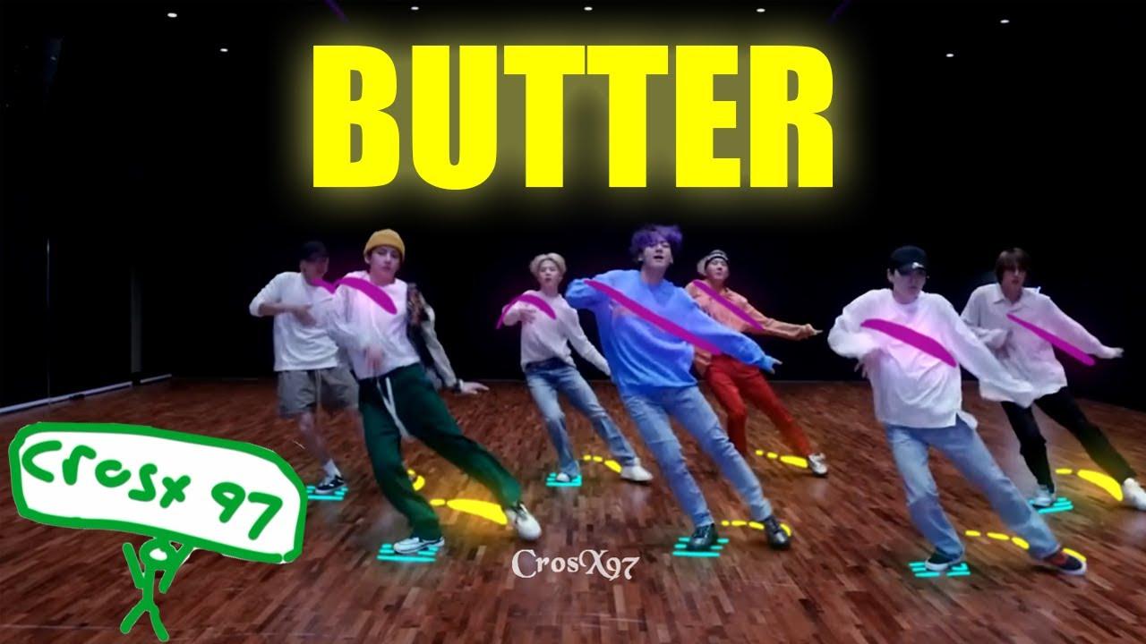 『Scribble Effect』BTS (방탄소년단) 'Butter' Dance Practice