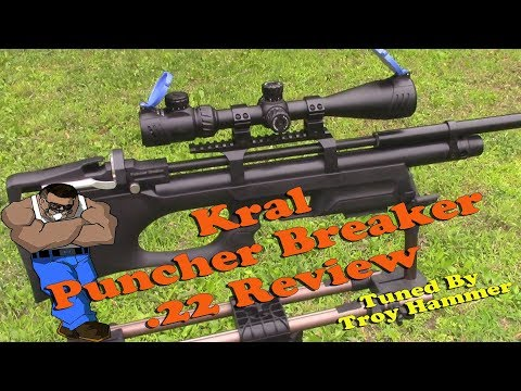 KRAL ARMS PUNCHER BREAKER 50 YARDS ACCURACY TEST - YouTube