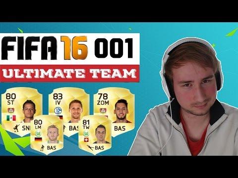 FIFA 16 Ultimate Team [Facecam] #001 Meine erste Bundesliga Mannschaft | Gameplay Deutsch German FUT
