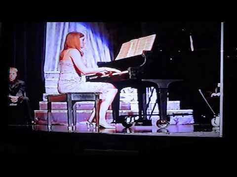 Decorah High School Variety Show piano solo - 2004