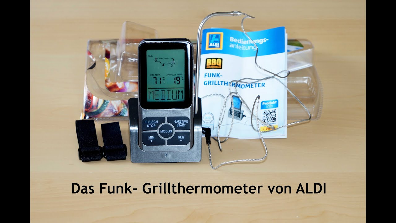 Funk-Grillthermometer
