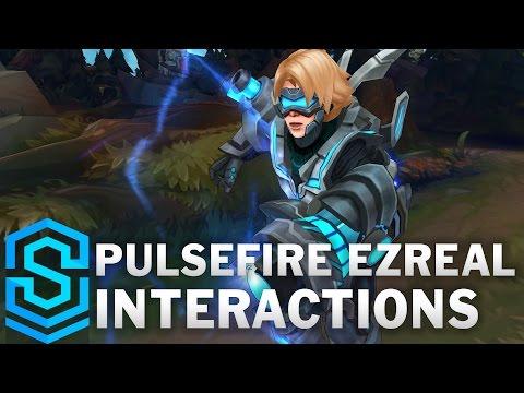 Pulsefire Ezreal Special Interactions