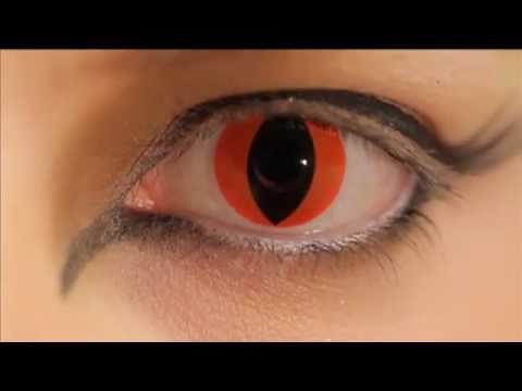 Aqua Cat Eye Contacts Prescription