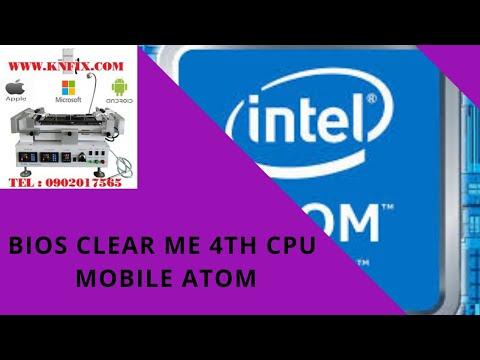 Making bios intel txe region for cpu intel mobile and intel atom 4th gen