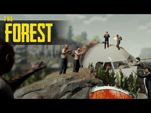 YOUTUBER DEATHMATCH! The Forest PvP (Tribal Warfare FULL EVENT)