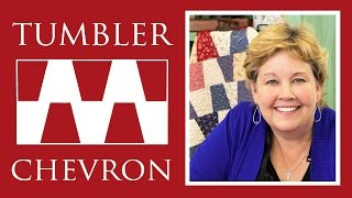 Tumbler Chevron Quilt: Easy Quilting Tutorial with Jenny Doan of Missouri Star Quilt Co