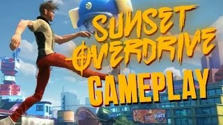 Sunset Overdrive Gameplay - GORGEOUS GAME - Open World, Amps, Guns & Loads More Info