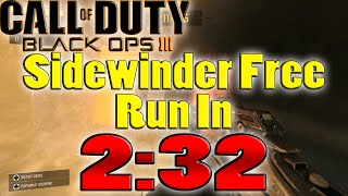 Black Ops 3 | Sidewinder Free Run In 2:32
