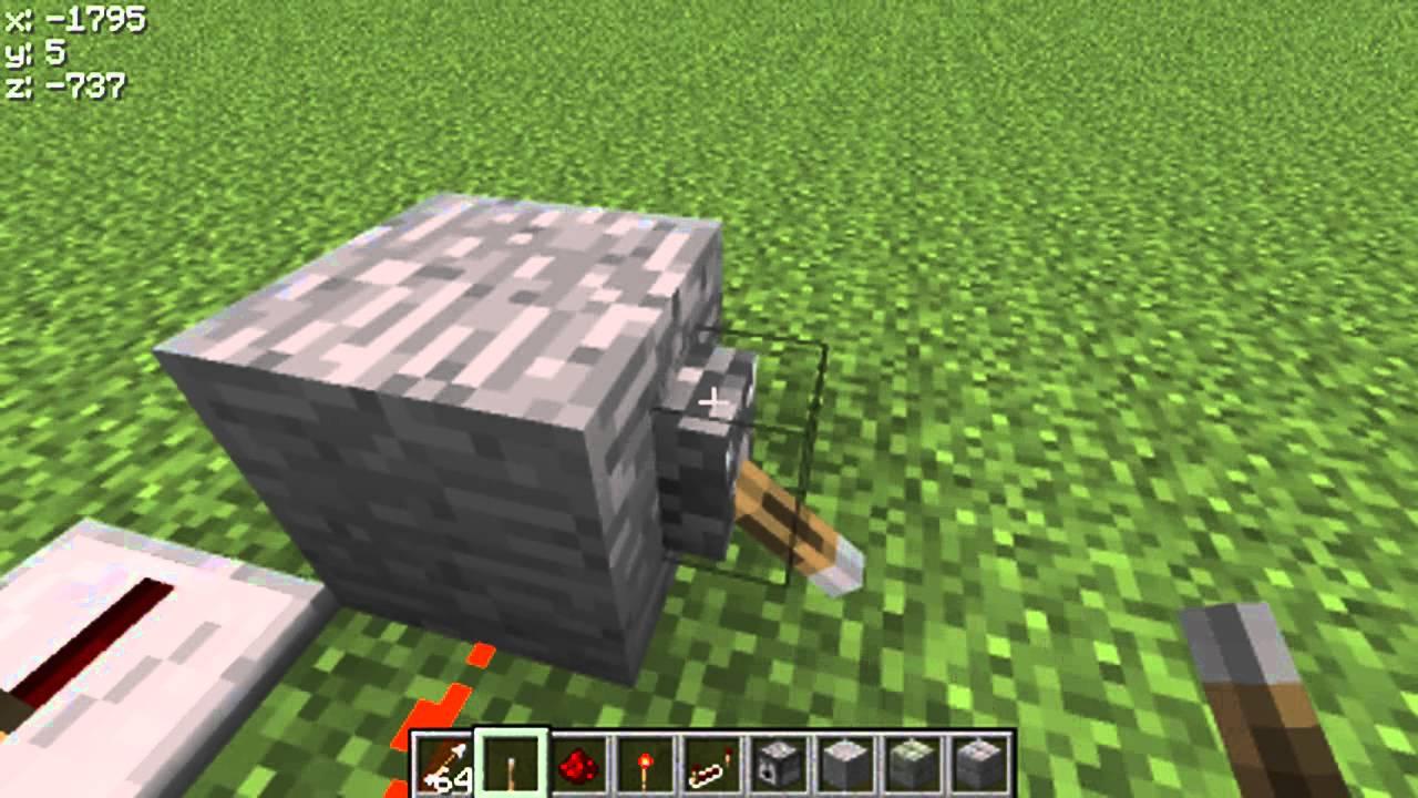 How to Make a Gun In Minecraft (No Mods) YouTube