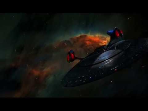 The new Sovereign-class USS Enterprise-E NCC 1701