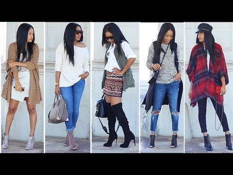 -- FAB FALL OUTFITS 2015 | Lookbook --
