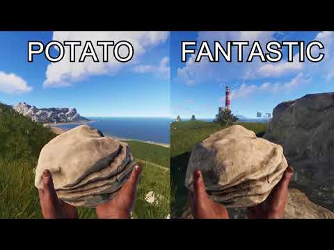 Best graphic options for rust