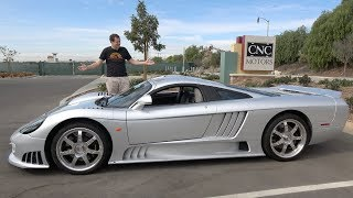 homepage tile video photo for The Saleen S7 Is the Craziest Supercar Nobody Knows About