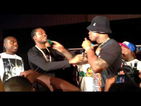 Busted! Meek Mill caught stealing 50 Cent and the Unit song on new album
