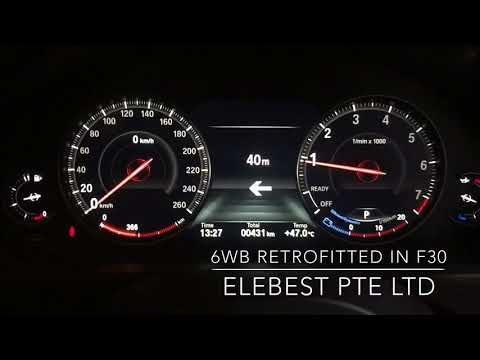 6WB RETROFITTED IN BMW F30