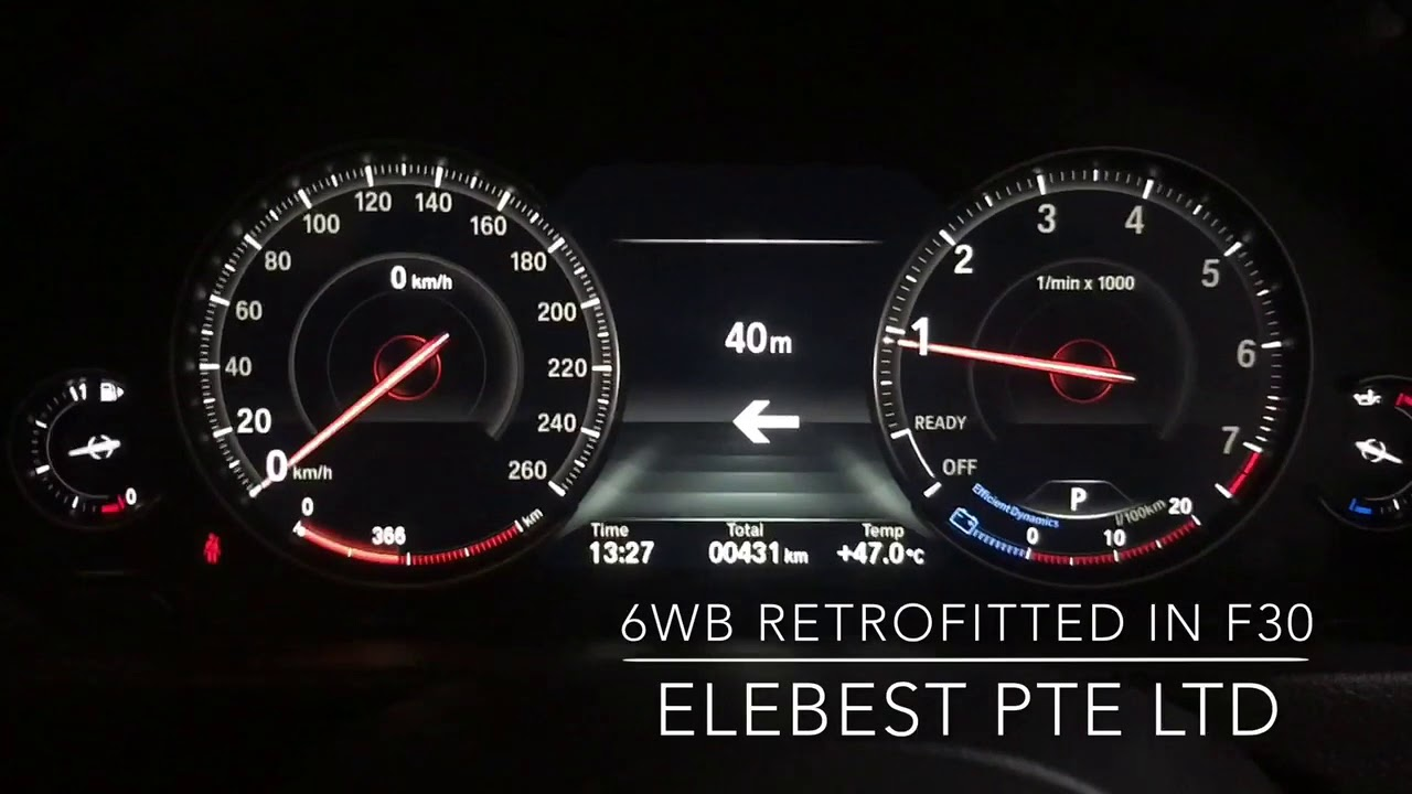 Bmw F30 Digital Cluster