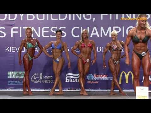 2013 World IFBB Women's PHYSIQUE over 163 cm - FULL