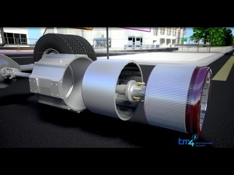 TM4 electric powertrain technologies for buses and commercial vehicles