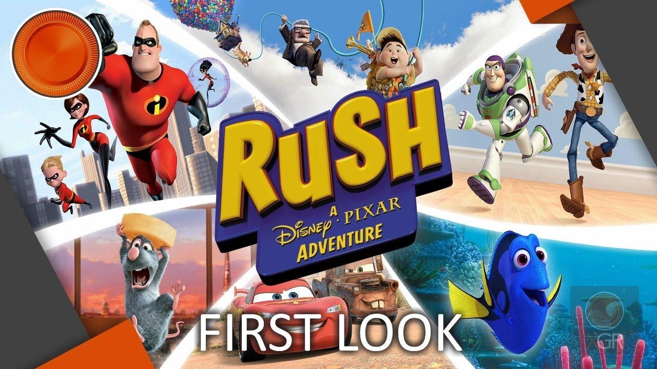 Rush: A Disney Pixar Adventure - First Look - Xbox One ...
